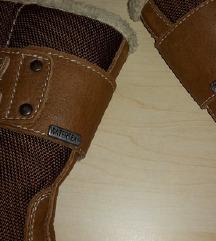 Čizme kožne zimske Watertex za dječake