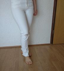 H&m bijele traperice 40