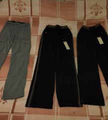 Lot zimskih postavljenih hlača