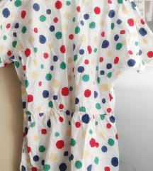 Pamučna haljina retro uzorka