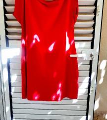 Crvena tunika haljina