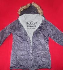 Nova C&A siva jakna s kapuljačom - SNIŽENO!!