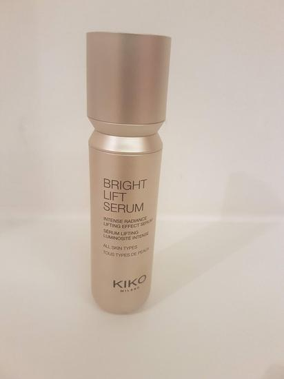 Kiko bright lift serum novo