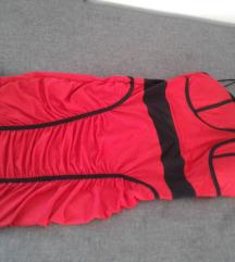 Haljina crvena 36