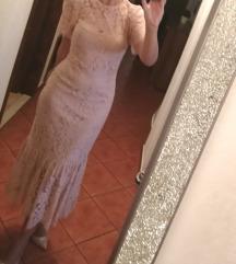 Zara čipkasta haljina nova
