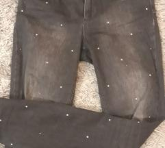 Twin Set skinny jeans sa kristalima ,rezz