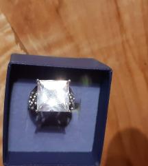 Prsten srebro925 i arctic quartz