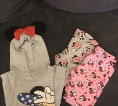 Lot H&M Minnie tunika i tajice