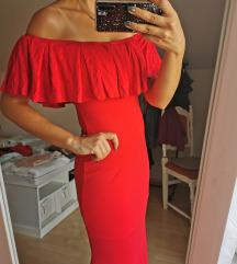 Crvena haljina(od xs-m,) poštarina uključena