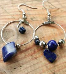 Lapis lazuli nausnice