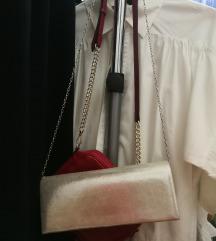 Srebrna svecana torbica