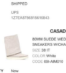 Original CASADEI cizme vel. 38