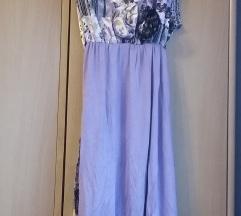 Prodajem ljubičastu cvjetnu haljinu