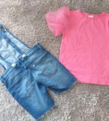 Lot C&A kombinezon 158 i majica Zara 152