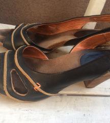 Sandale Hub prava koža cijele