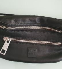 Replay muska torbica za oko struka, prava koza
