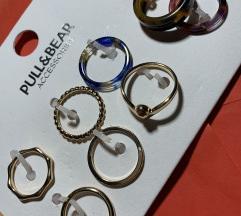 Set prstena 8 kom