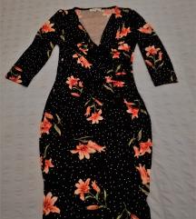 haljina s cvjetnim uzorkom
