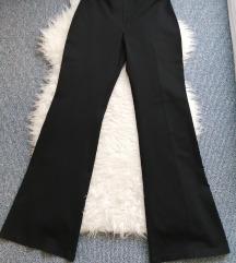 SEZDI crne trapez hlače