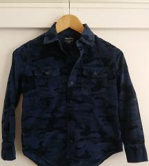 Gap dječja plava maskirna košulja, vel 8-9 g.