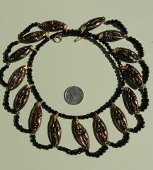 REZ. Vintage, upečatljiva  ogrlica