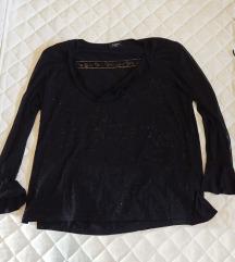 Crna svečana bluza