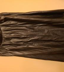 Kožna suknja s faldama M  *prodaja/zamjena*