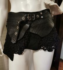 Kožni remen/suknja
