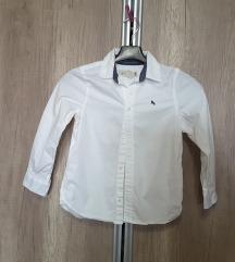 H&M, nova, bijela košulja 6-7g, 122