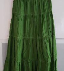 c&a dugačka suknja