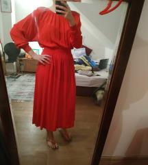 H&M midi haljina s etiketom