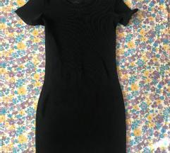 Crna uska haljina m velicine