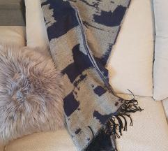 Sivo plavi blanket šal %%2+1gratis🍃 :)