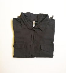 H&M crop košulja s resicama