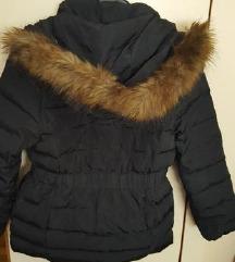 Zara girls pernata jakna vel.140