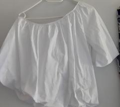 Zara bijela bluza  M