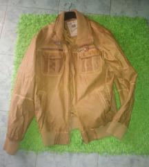 Muška kožna jakna, 54 br. M/L