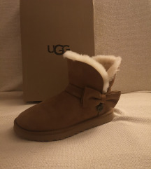 UGG SUEDE MINI BOW
