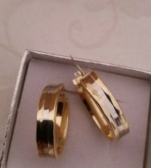 Naušnice zlato 585