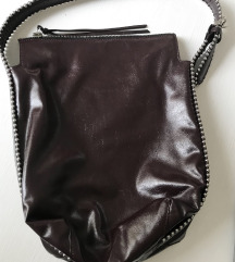 Zata burgundy torba sa zakovicama