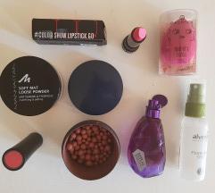 Lot kozmetike raznih brendova