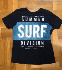 Kratka majica za dečka plava 158/164