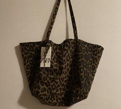Zara shopper torba