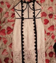 Asos midi lace haljina
