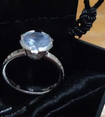 Thomas Sabo prsten,18mm promjer,srebro 925