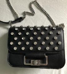 Zara torbica s cirkonima