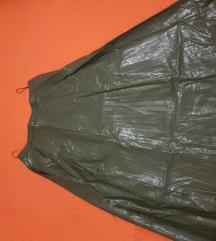 Kozna suknja Mango