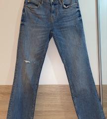 Zara široke traperice 36
