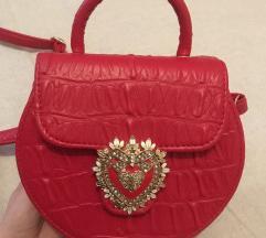 Crvena my lovely bag torba