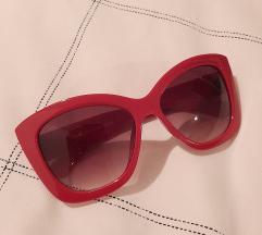 Zara crvene velike naočale